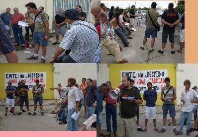 Constituido el Comité de Solidaridad con los trabajadores represaliados de Emte