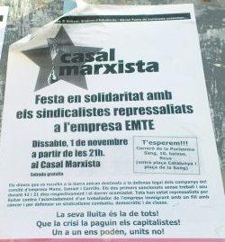 FESTA EN SOLIDARITAD AMB EMTE